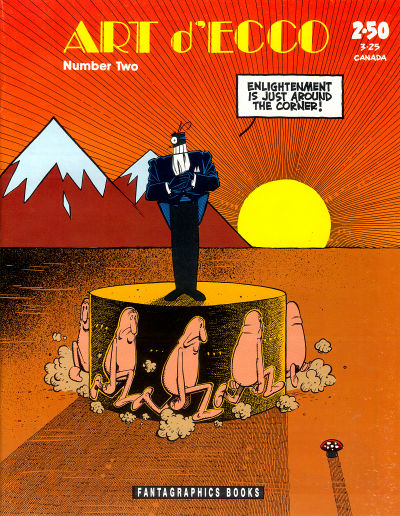 Cover for Art D'Ecco (Fantagraphics, 1990 series) #2