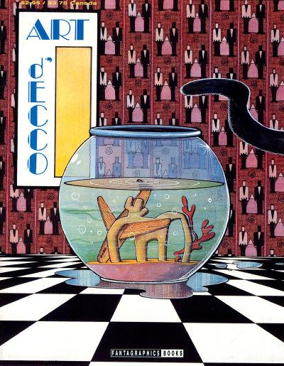 Cover for Art D'Ecco (Fantagraphics, 1990 series) #4