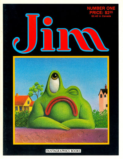 Cover for Jim (Fantagraphics, 1987 series) #1