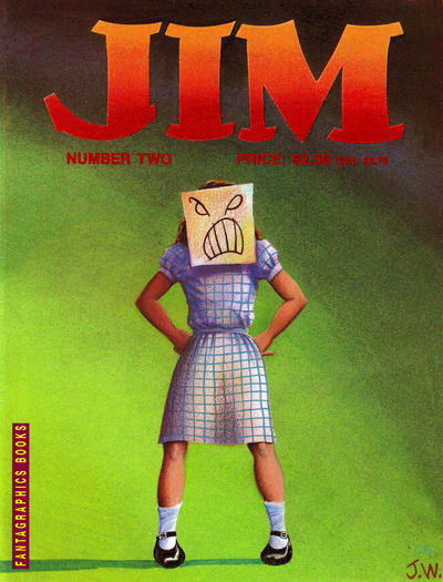 Cover for Jim (Fantagraphics, 1987 series) #2