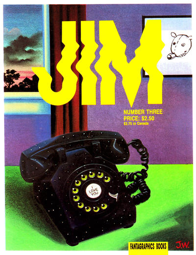 Cover for Jim (Fantagraphics, 1987 series) #3