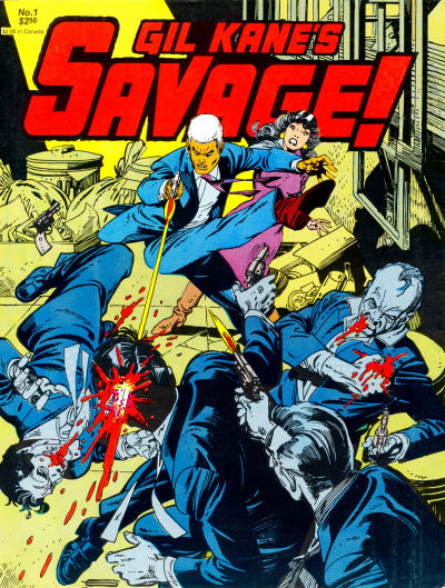 Cover for Gil Kane's Savage (Fantagraphics, 1982 series) #1