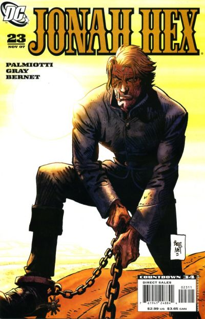 Cover for Jonah Hex (DC, 2006 series) #23