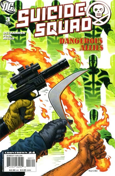 Cover for Suicide Squad: Raise the Flag (DC, 2007 series) #3