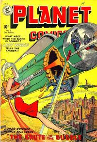Cover Thumbnail for Planet Comics (Publications Services Limited, 1949 series) #2