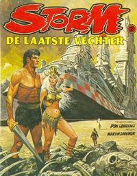 Cover Thumbnail for Storm (Oberon, 1978 series) #2 - De laatste vechter