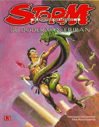Cover Thumbnail for Storm (Oberon, 1978 series) #13 - De doder van Eriban