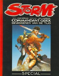 Cover Thumbnail for Storm (Big Balloon, 1990 series) #0 - Commandant Grek: Gevangenen van de tijd