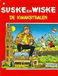 Cover Thumbnail for Suske en Wiske (Standaard Uitgeverij, 1967 series) #99 - De kwakstralen