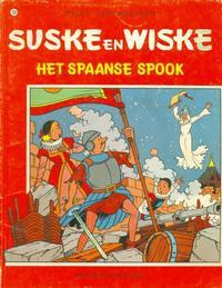 Cover Thumbnail for Suske en Wiske (Standaard Uitgeverij, 1967 series) #150 - Het Spaanse spook