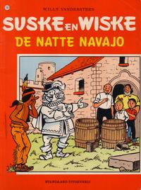 Cover Thumbnail for Suske en Wiske (Standaard Uitgeverij, 1967 series) #196 - De natte Navajo