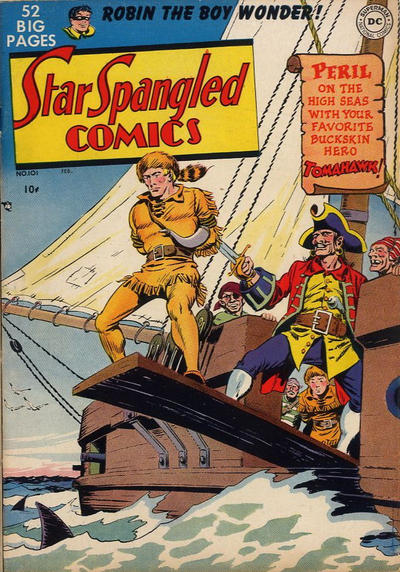 Cover for Star Spangled Comics (DC, 1941 series) #101