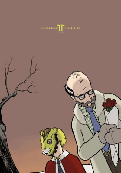 Cover for Forlorn Funnies (Absence Of Ink Comic Press, 2002 series) #2