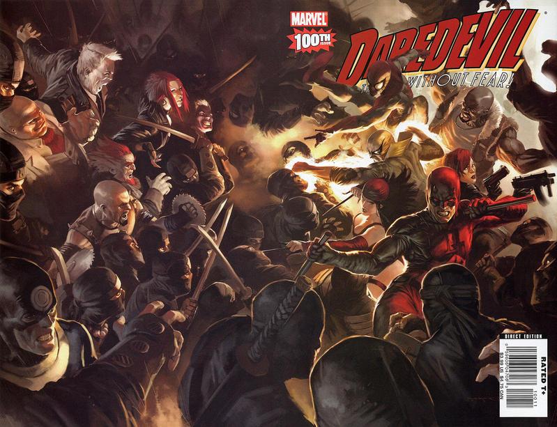 Cover for Daredevil (Marvel, 1998 series) #100 [Variant Edition - Lee Bermejo]