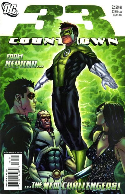 Cover for Countdown (DC, 2007 series) #33