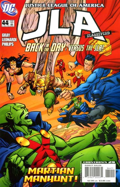 Cover for JLA: Classified (DC, 2005 series) #44