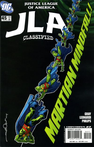 Cover for JLA: Classified (DC, 2005 series) #45 [Direct Sales]