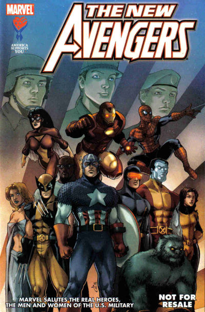 Cover for AAFES 3rd Edition [New Avengers] (Marvel, 2006 series)