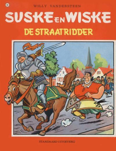 Cover for Suske en Wiske (Standaard Uitgeverij, 1967 series) #83 - De straatridder