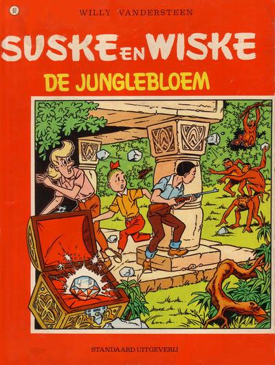 Cover for Suske en Wiske (Standaard Uitgeverij, 1967 series) #97 - De junglebloem