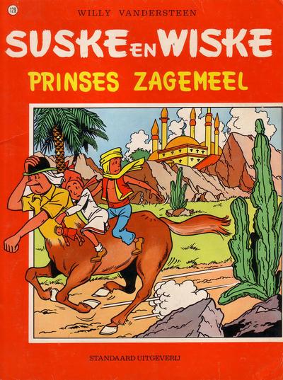 Cover for Suske en Wiske (Standaard Uitgeverij, 1967 series) #129 - Prinses Zagemeel
