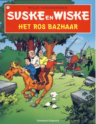 Cover for Suske en Wiske (Standaard Uitgeverij, 1967 series) #151 - Het ros Bazhaar [Herdruk 2008]