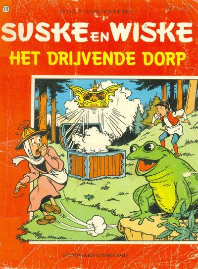 Cover for Suske en Wiske (Standaard Uitgeverij, 1967 series) #173 - Het drijvende dorp