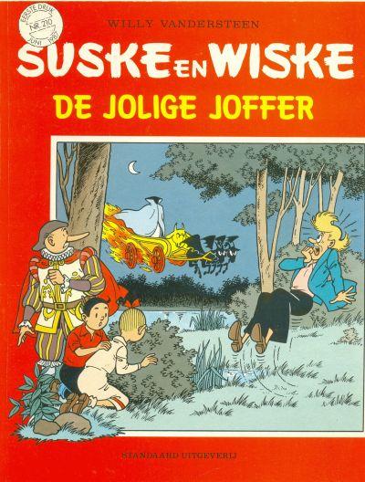 Cover for Suske en Wiske (Standaard Uitgeverij, 1967 series) #210 - De jolige joffer
