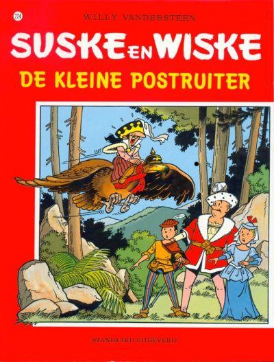 Cover for Suske en Wiske (Standaard Uitgeverij, 1967 series) #224 - De kleine postruiter
