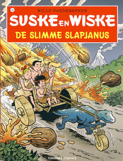Cover for Suske en Wiske (Standaard Uitgeverij, 1967 series) #238 - De slimme slapjanus [Herdruk 2008]