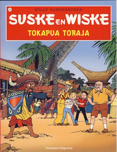 Cover for Suske en Wiske (Standaard Uitgeverij, 1967 series) #242 - Tokapua Toraja [Herdruk 2008]