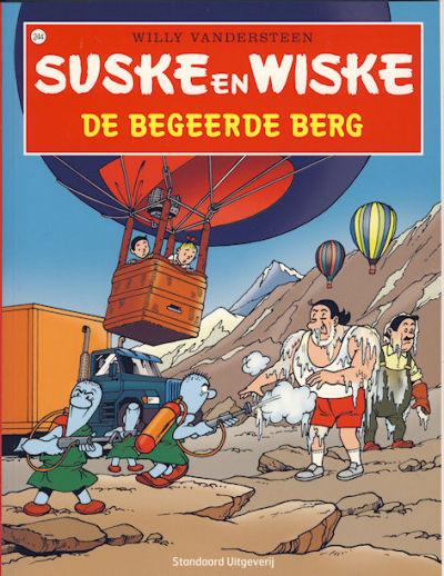 Cover for Suske en Wiske (Standaard Uitgeverij, 1967 series) #244 - De begeerde berg
