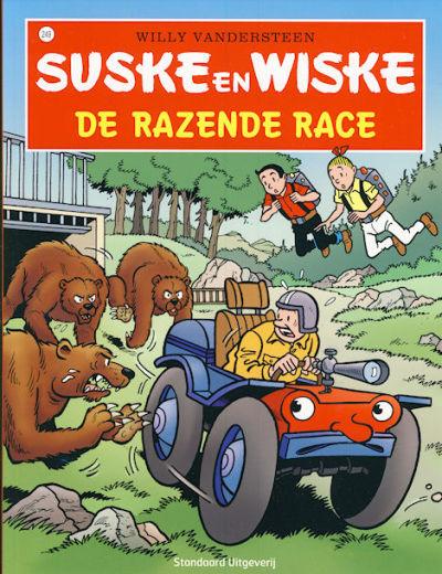 Cover for Suske en Wiske (Standaard Uitgeverij, 1967 series) #249 - De razende race