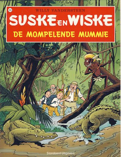 Cover for Suske en Wiske (Standaard Uitgeverij, 1967 series) #255 - De mompelende mummie [Herdruk 2008]
