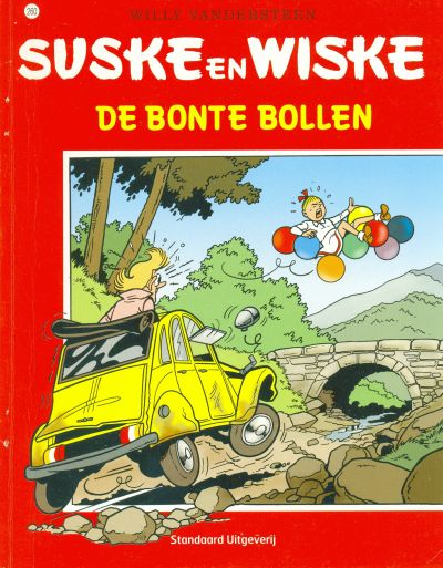 Cover for Suske en Wiske (Standaard Uitgeverij, 1967 series) #260 - De bonte bollen