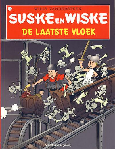 Cover for Suske en Wiske (Standaard Uitgeverij, 1967 series) #279 - De laatste vloek [Herdruk 2008]
