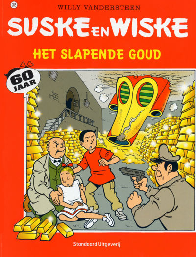 Cover for Suske en Wiske (Standaard Uitgeverij, 1967 series) #288 - Het slapende goud