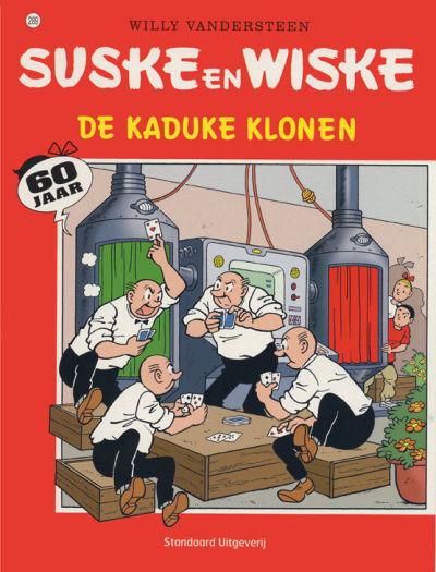 Cover for Suske en Wiske (Standaard Uitgeverij, 1967 series) #289 - De kaduke klonen