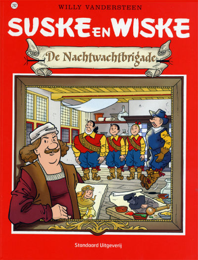 Cover for Suske en Wiske (Standaard Uitgeverij, 1967 series) #292 - De Nachtwachtbrigade