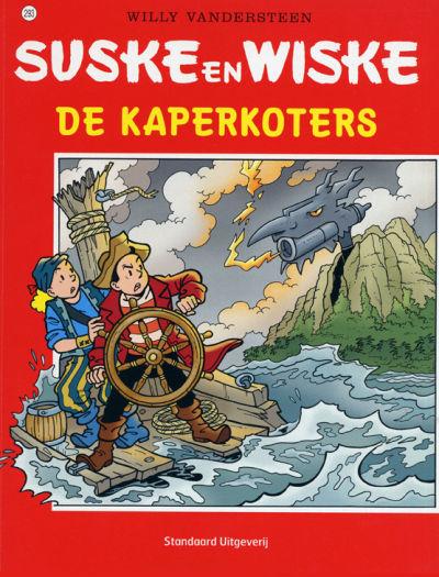 Cover for Suske en Wiske (Standaard Uitgeverij, 1967 series) #293 - De kaperkoters