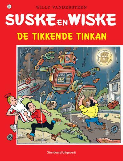 Cover for Suske en Wiske (Standaard Uitgeverij, 1967 series) #294 - De tikkende Tinkan