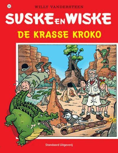 Cover for Suske en Wiske (Standaard Uitgeverij, 1967 series) #295 - De krasse kroko
