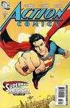 Cover Thumbnail for Action Comics (1938 series) #858 [Direct Market Standard Cover]