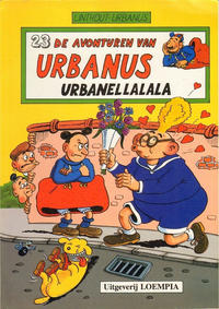 Cover Thumbnail for De avonturen van Urbanus (Loempia, 1983 series) #23 - Urbanellalala