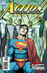 Cover for Action Comics (DC, 1938 series) #861 [Direct]