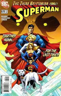Cover Thumbnail for Superman (DC, 2006 series) #670 [Direct Sales]