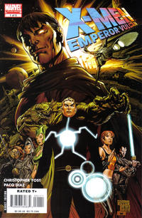 Cover Thumbnail for X-Men: Emperor Vulcan (Marvel, 2007 series) #1