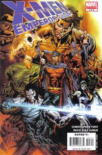 Cover Thumbnail for X-Men: Emperor Vulcan (Marvel, 2007 series) #3