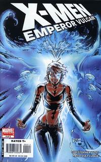 Cover Thumbnail for X-Men: Emperor Vulcan (Marvel, 2007 series) #4 [Direct Edition]