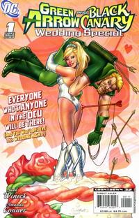 Cover Thumbnail for Green Arrow / Black Canary Wedding Special (DC, 2007 series) #1 [First Printing]